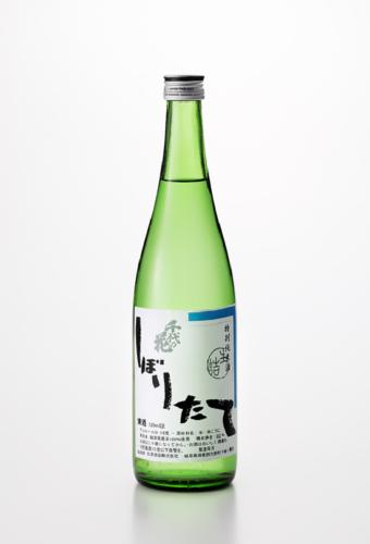 千代乃花 しぼりたて 特別本醸造