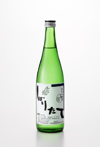 千代乃花 しぼりたて 純米吟醸酒